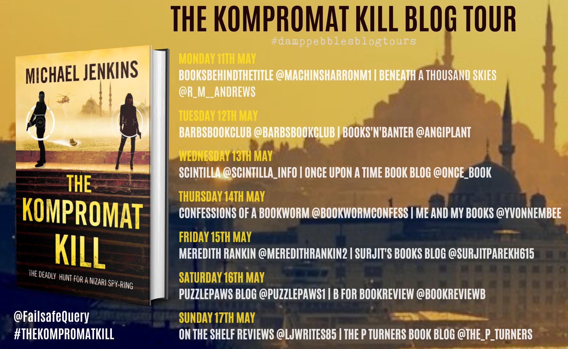 The Kompromat Kill banner