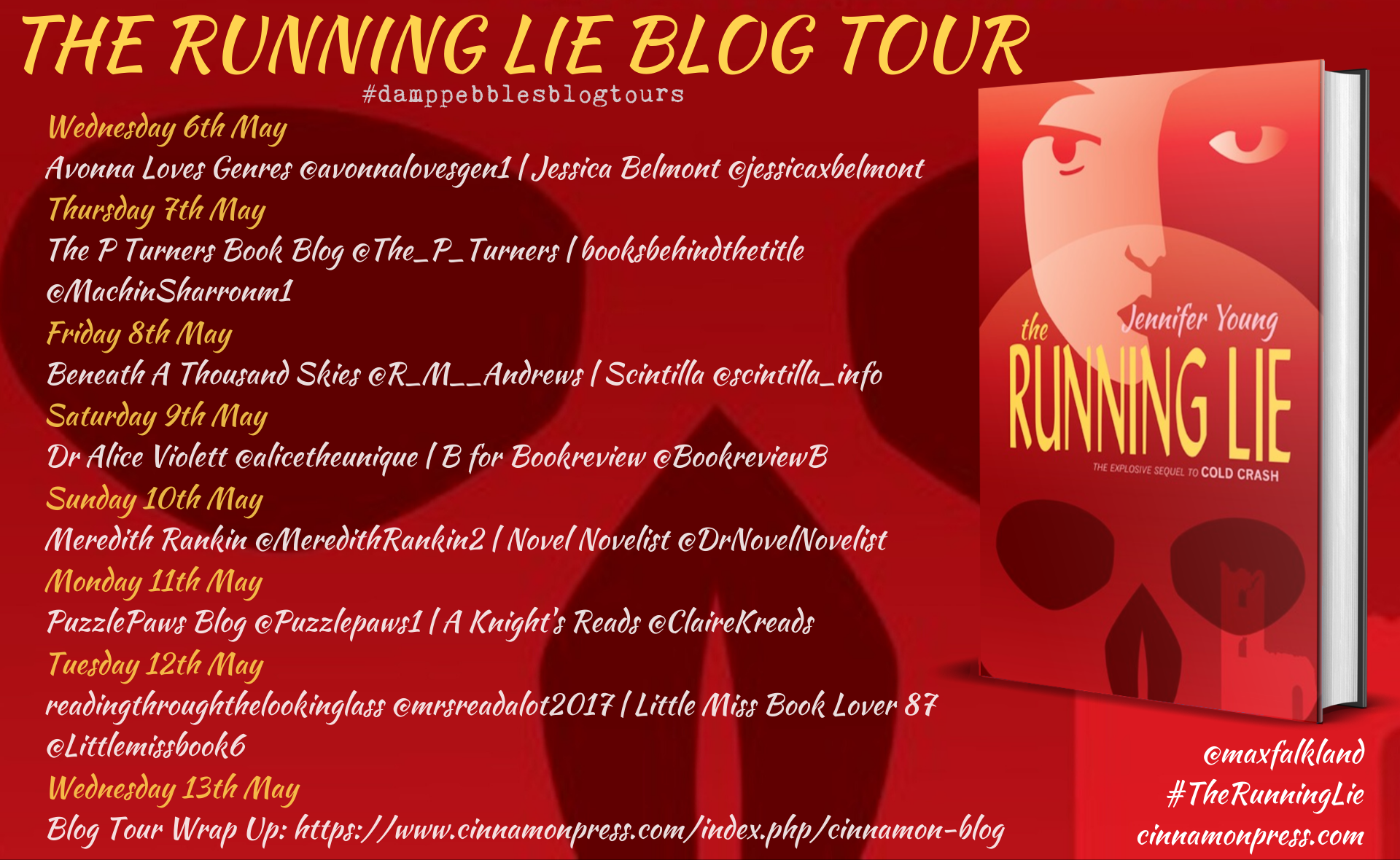The Running Lie banner V2