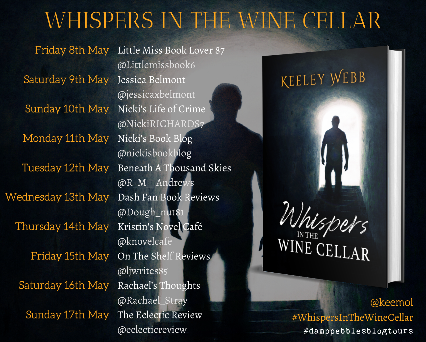 Whispers in the Wine Cellar banner